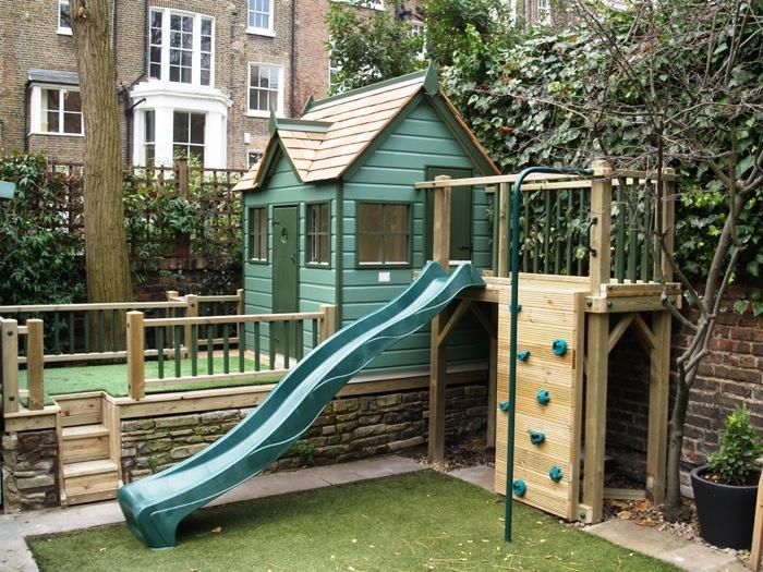 Custom Hideout Playhouse For Small Space